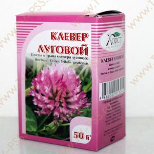 Клевер луговой (цветы и трава) 50 г