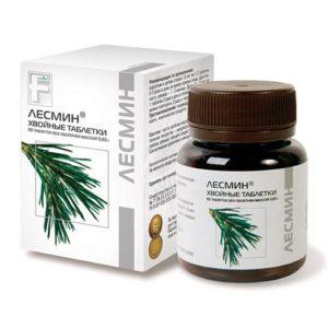 ЛЕСМИН - природный поливитаминно-фитонцидный комплекс; источник хлорофилла и фитостерина.